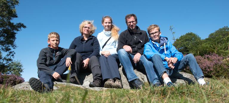 Patotra und Familie in Schottland
