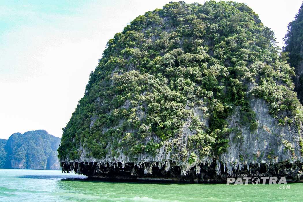 Kalkstein Insel