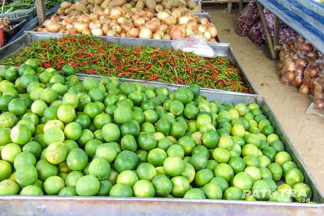 Markt in Khao Lak