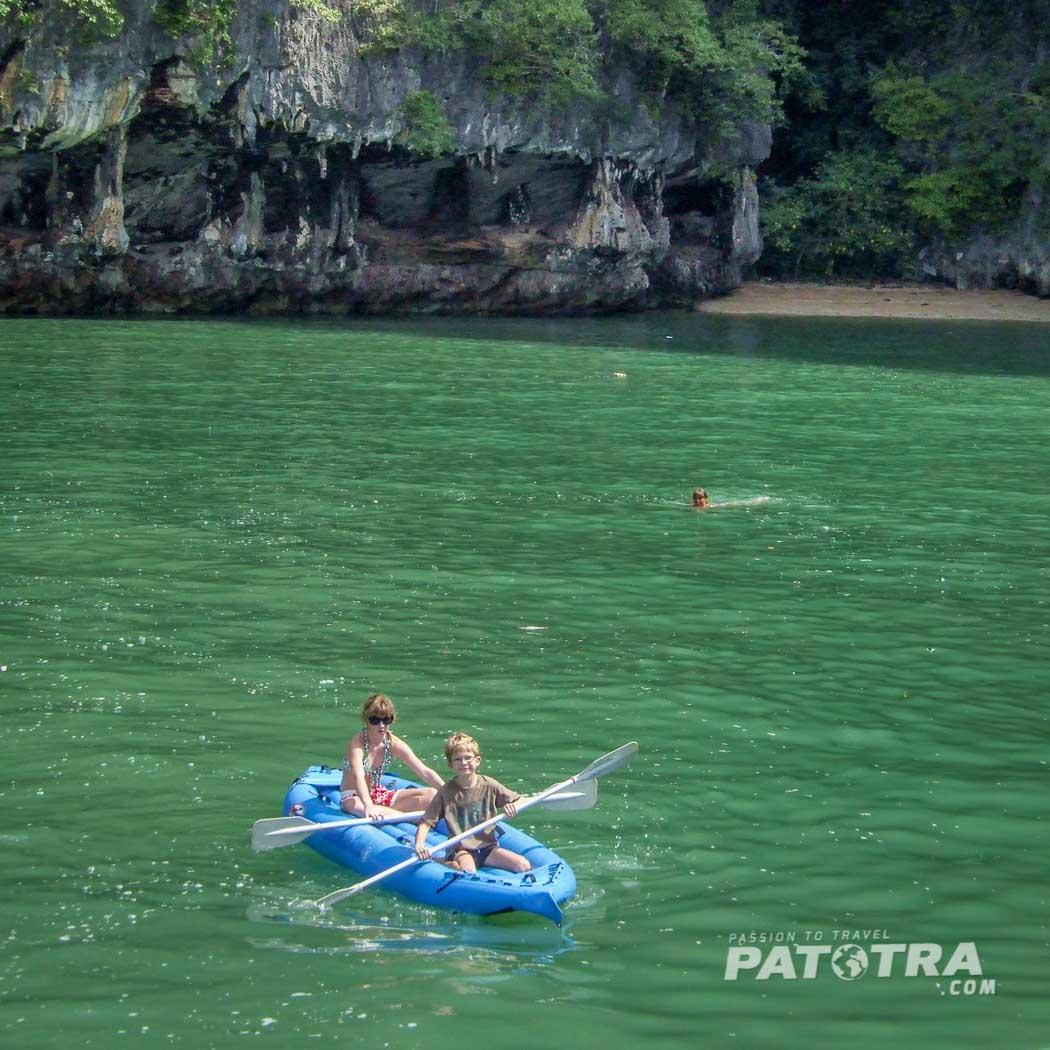 Kanu in Phang Nga