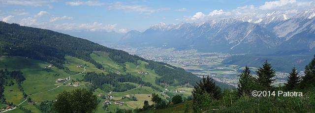 Blick über Innsbruck
