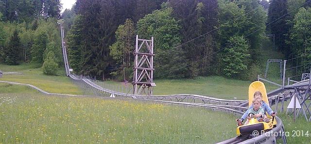 Sommerrodelbahn