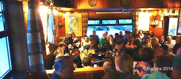 Irische Musik auf Bofin