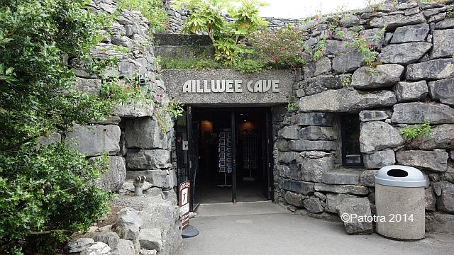 Eingang Ailwee Caves