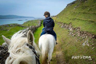 Reiten auf Inishbofin