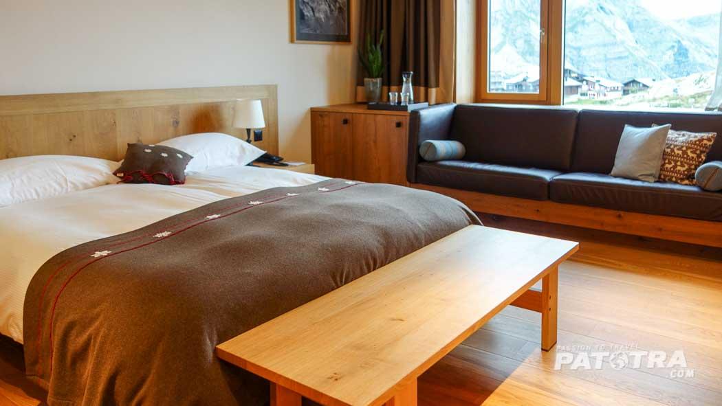 Zimmer mit Aussicht Hotel Frutt Lodge & Spa
