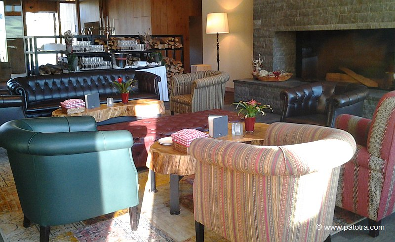 Lobby Hotel Frutt Lodge & Spa