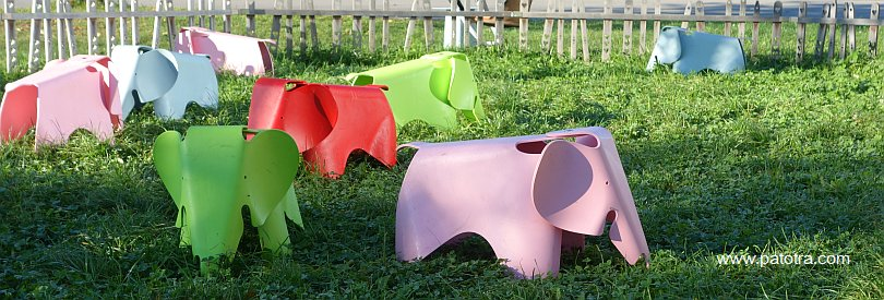 Rosa Elefanten