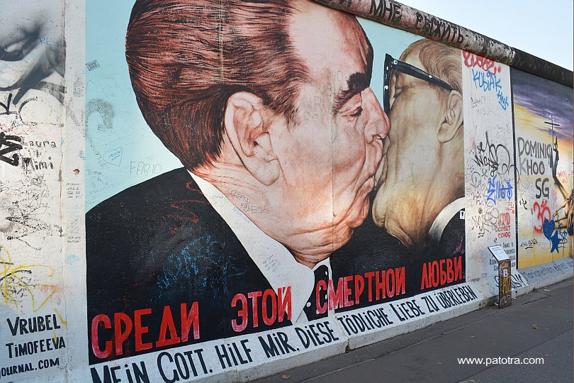 Berliner Mauer Der Kuss