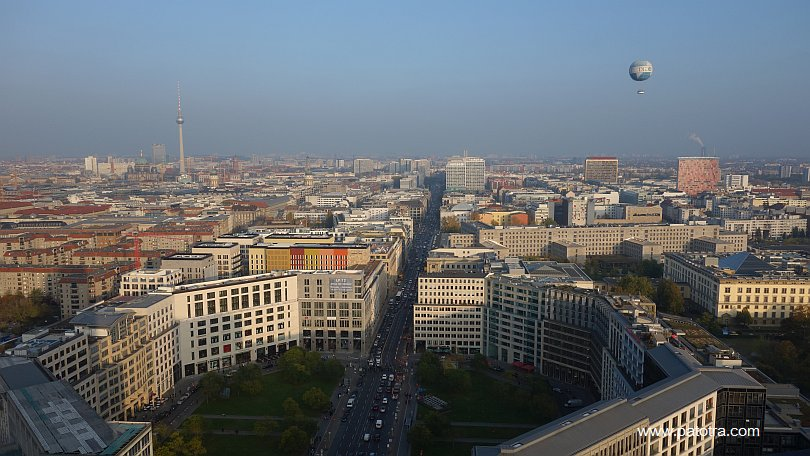 Panoramablick Berlin