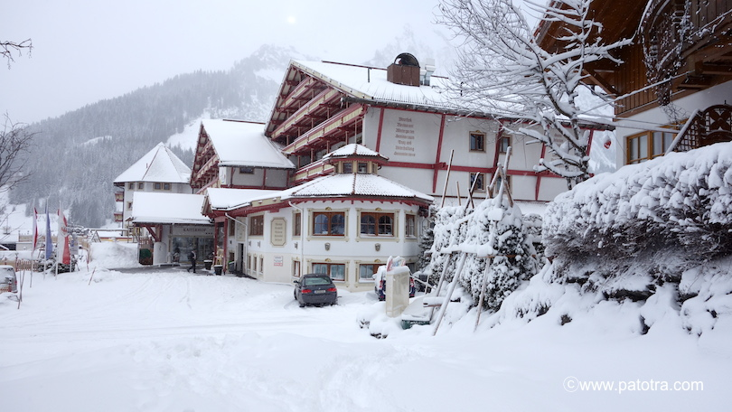 Hotel Kaiserhof: Winter