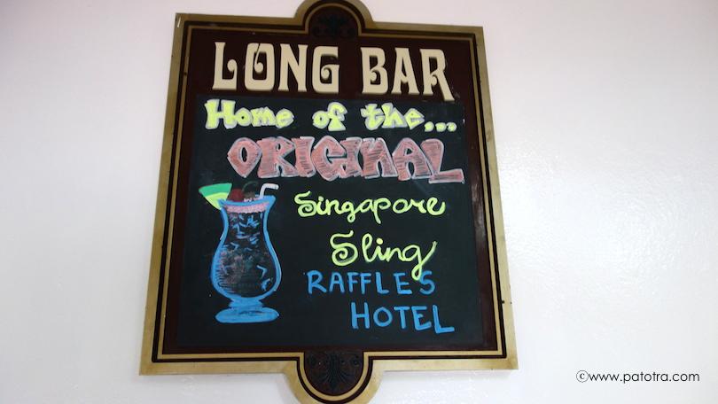 Long Bar Singapore 1