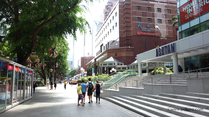 Orchard Road shopping