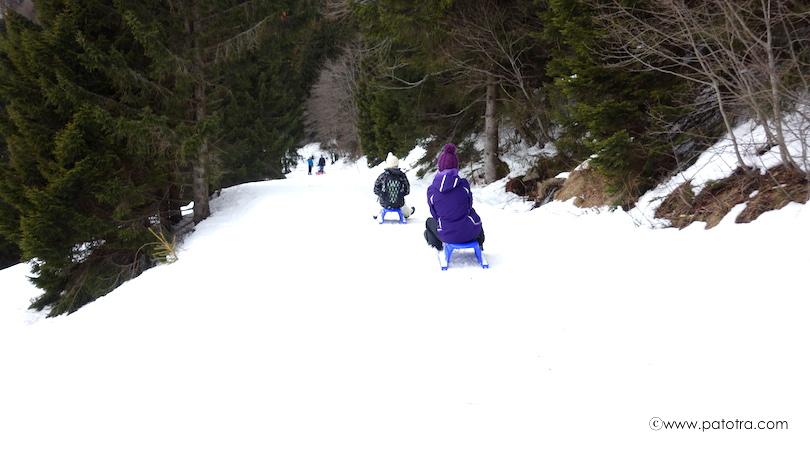 Schlittenbahn Bernau