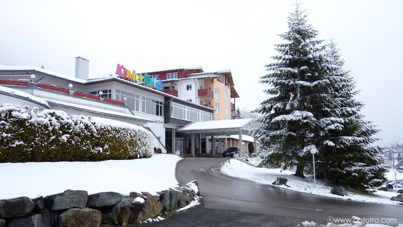 Einfahrt Hotel Oberjoch
