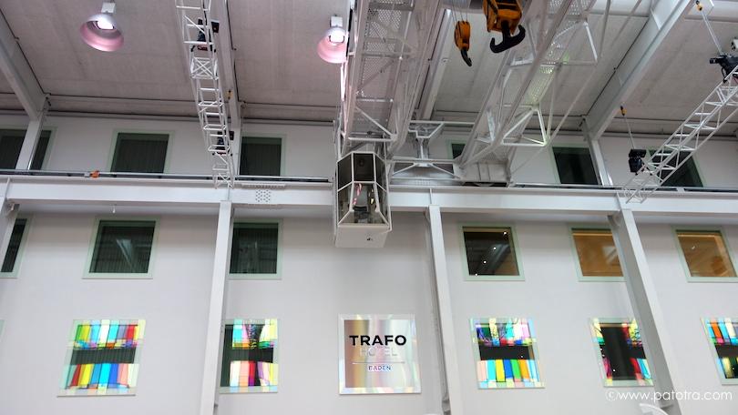 Eingang Hotel Trafo
