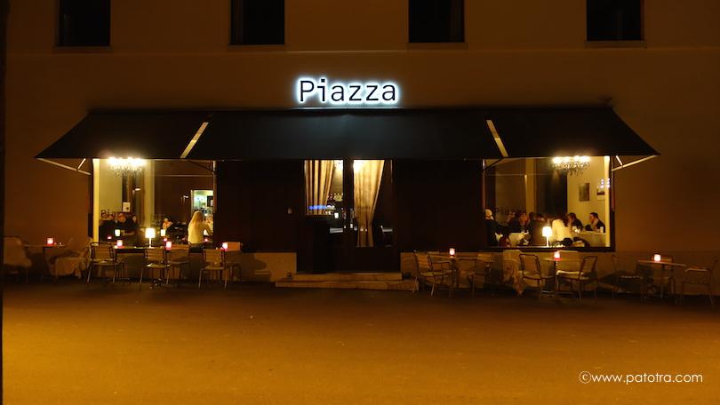 Eingang Restaurant Piazza