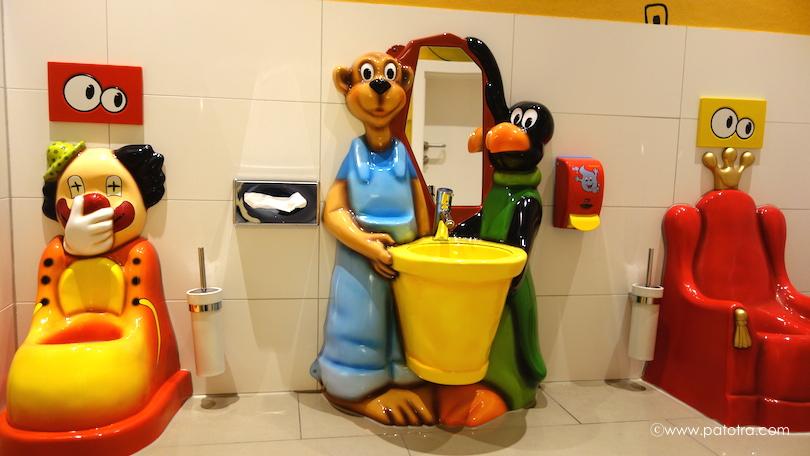 Kindertoilette Hotel Oberjoch