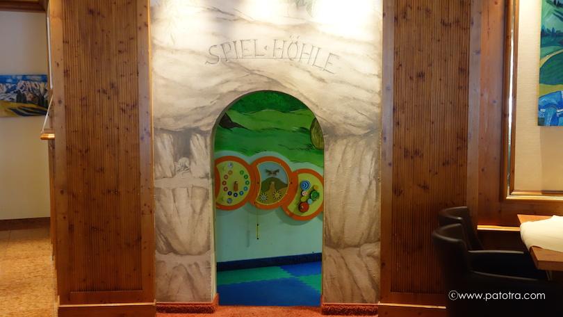Spielzimmer Hotel Oberjoch