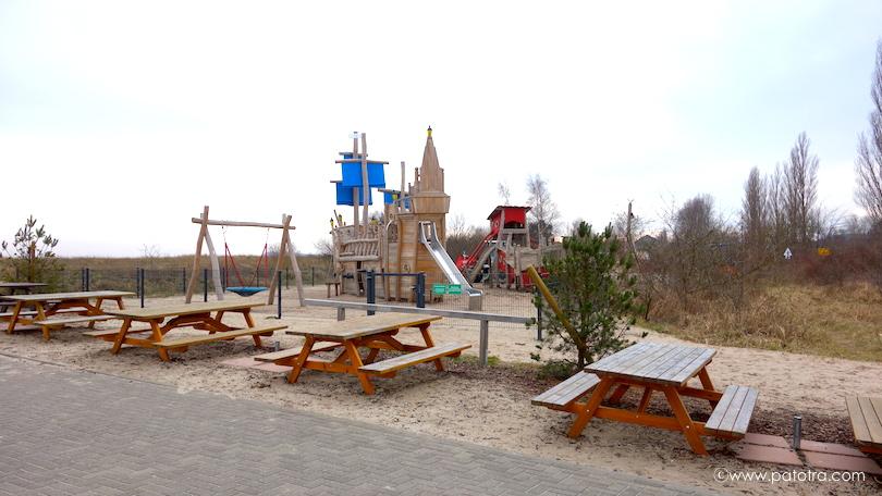 Strandhus Spielplatz