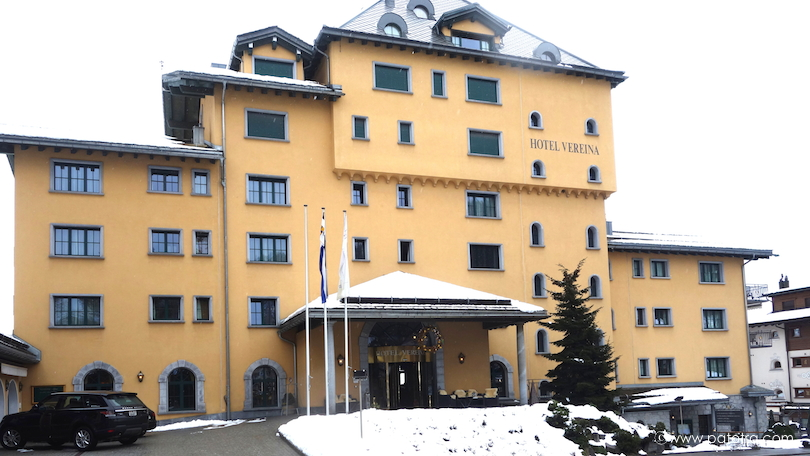 Aussenansicht Hotel Vereina