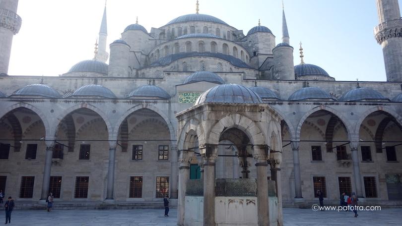 Blaue Moschee Eingang