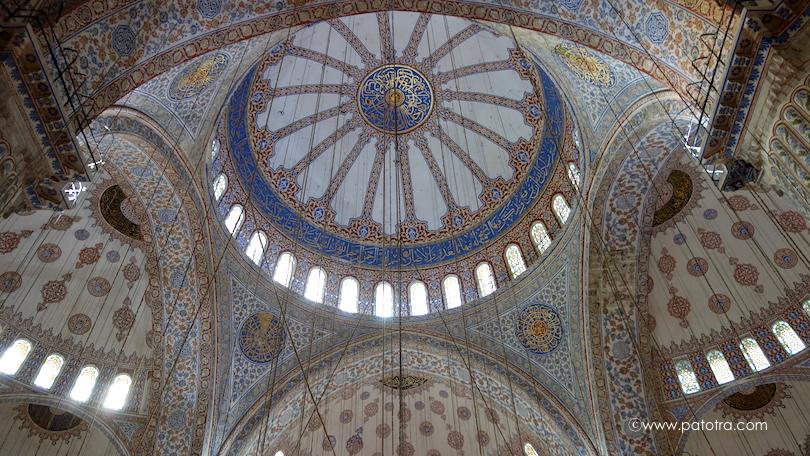 Blaue Moschee Kuppel