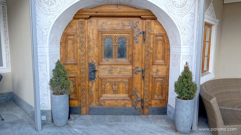 Eingang Chesa