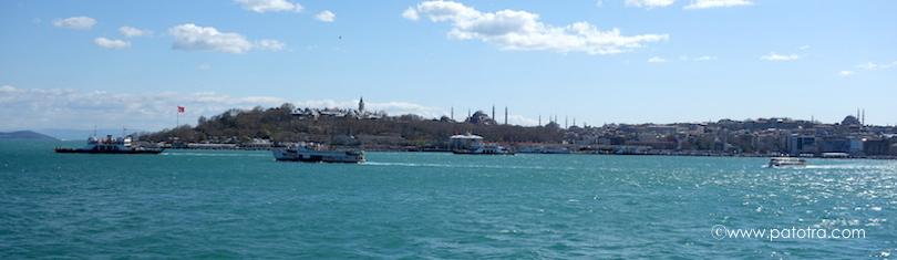 Istanbul von der Istanbul Modern aus