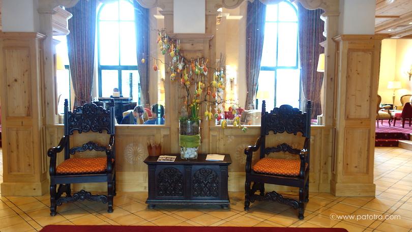 Lobby Hotel Vereina