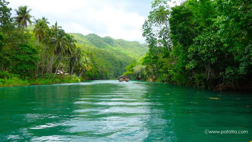Bootsfahrt Loboc River