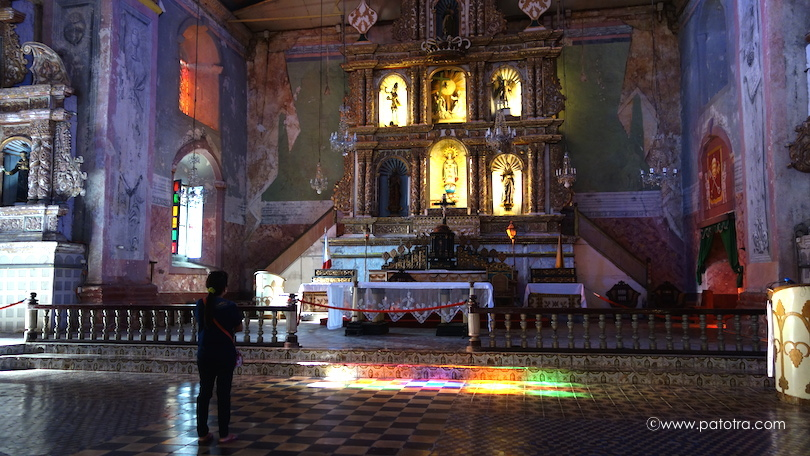 Baclayon Kirche