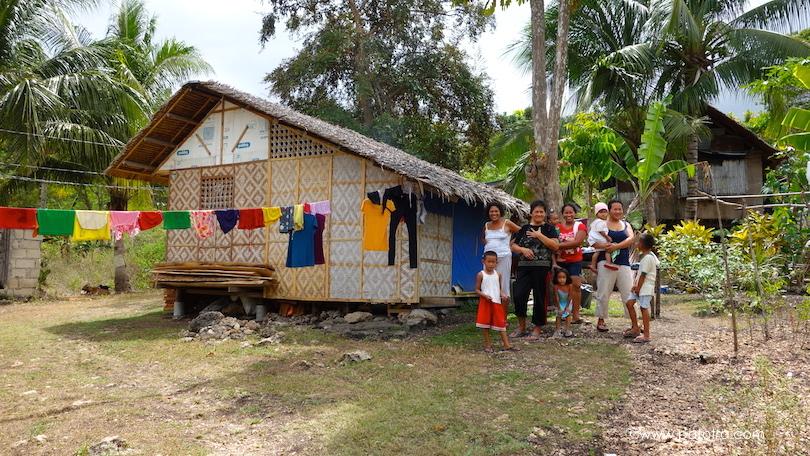 Haus auf Bohol