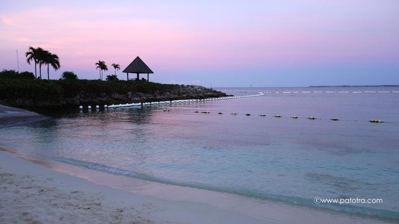 Sonnenuntergang Shangri La