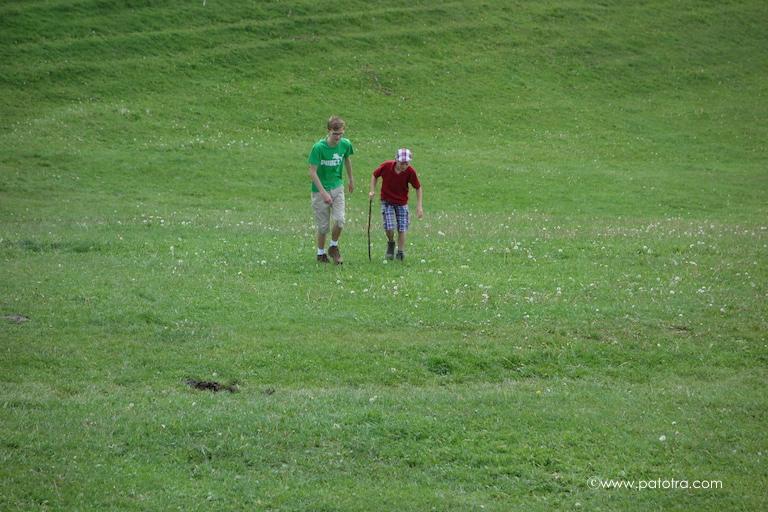 Wandern mit Teenagern