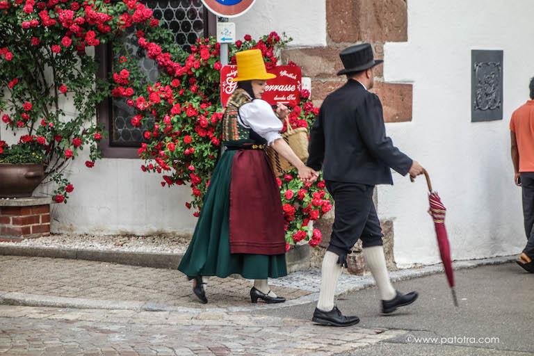 Katholische Tracht Schwarzwald