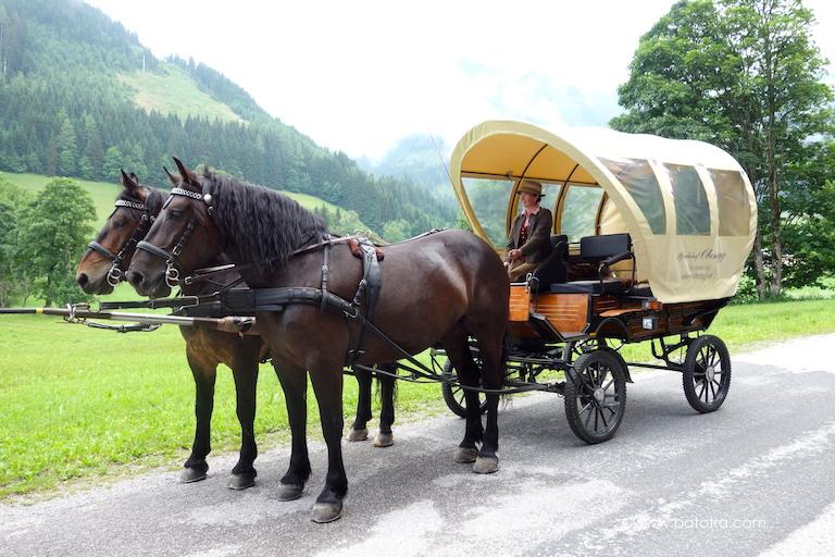 Pferdekutsche Werfenweng