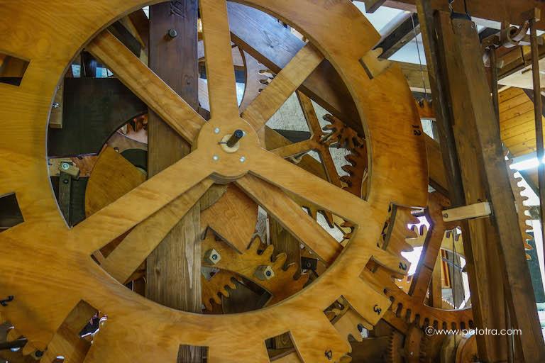 Uhrwerk Holz
