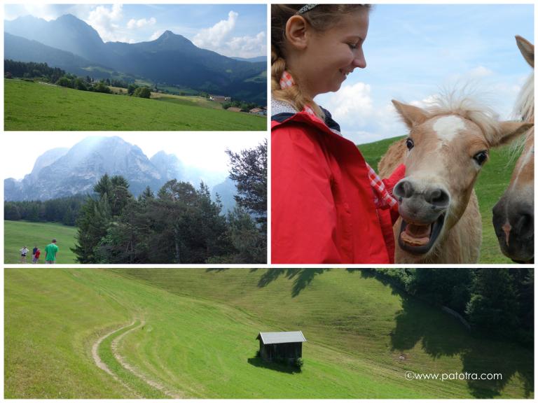 Wandern mit Kindern in Suedtirol
