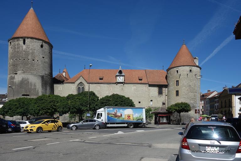 Yverdons Schloss