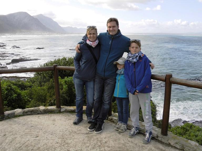 my family on tour