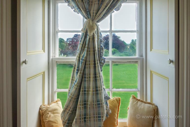 Blick Fenster Warthill