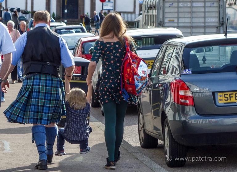Familie Schottland