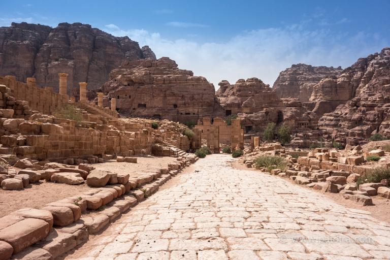 Felsenstadt Jordanien