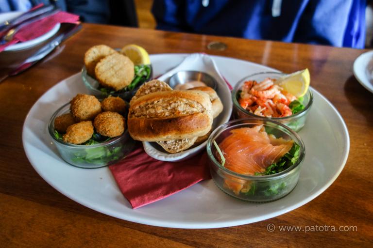 Pubfood Schottland