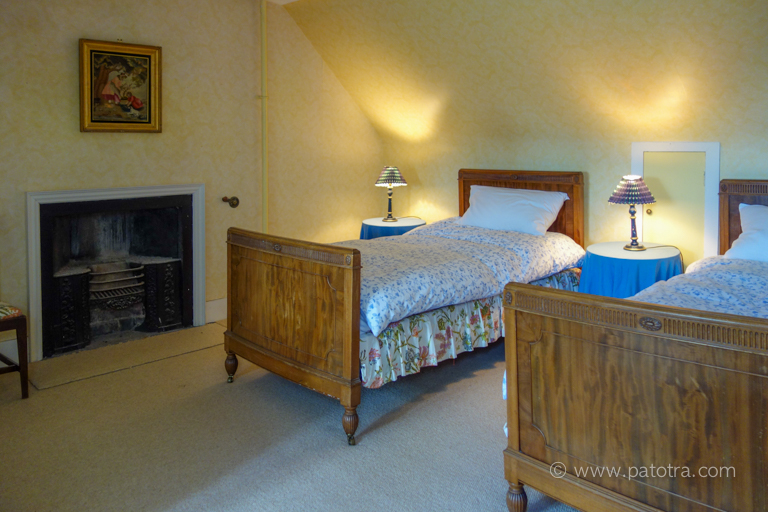 Schlafzimmer Schloss Warthill