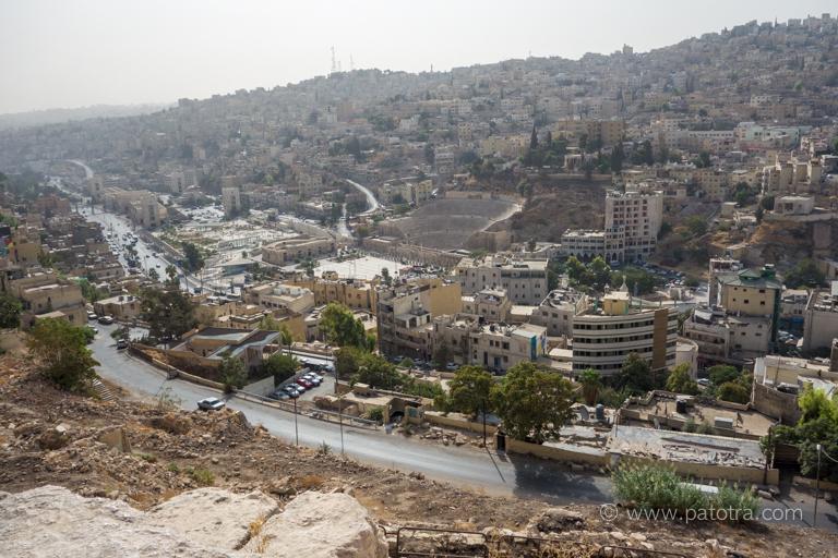 Blick Amman Stadt