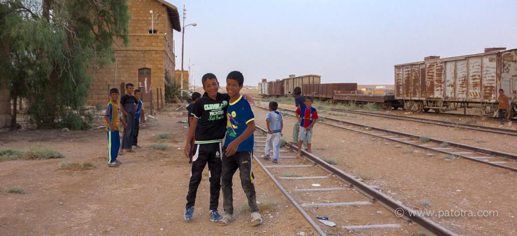 Kinder Jordanien