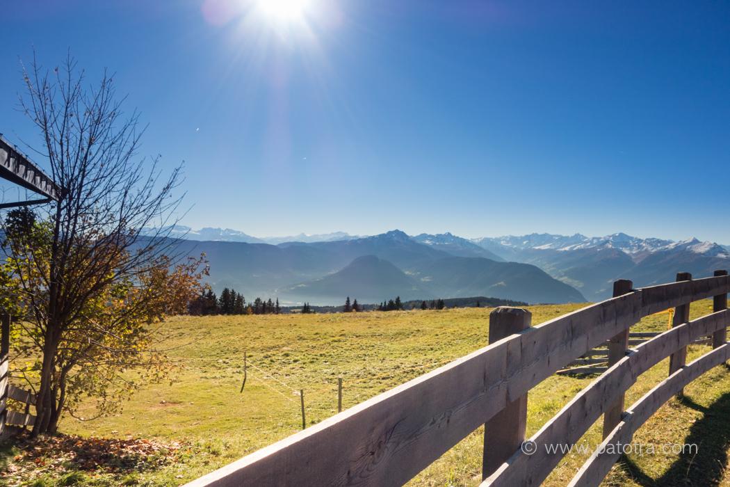 Herbstsonne Meraner Land