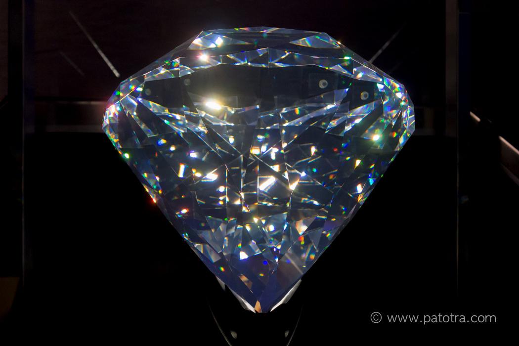 Riesiger Kristall